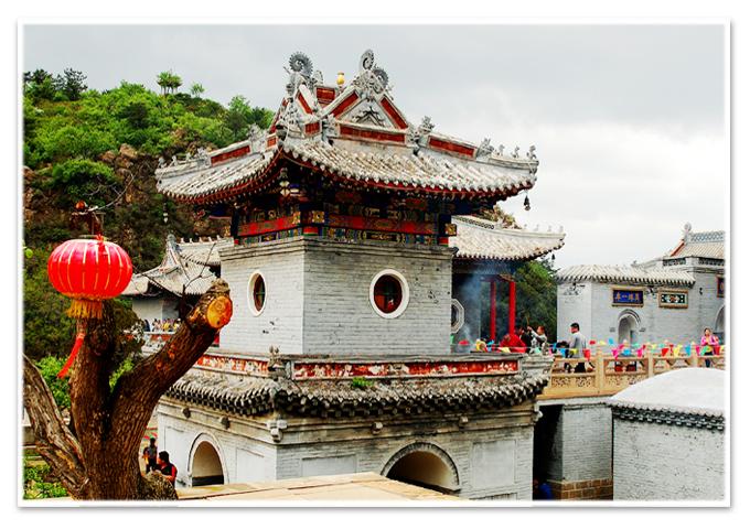 古寺庙建筑